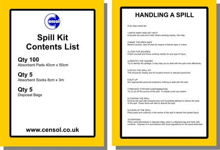 Spill Kits Contents Whats In Them And How Are They Used